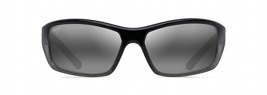 Maui Jim Maui Jim BARRIER REEF Black with Silver and Grey (792-14C) WD1ak