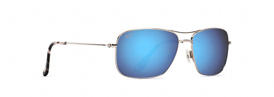 Maui Jim Wiki Wiki Sonnenbrille Silber GS249-17 Polarisiert 59mm yeOzztP29